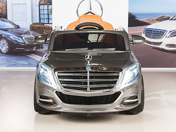 Kids 12v ride on car mercedes benz s600 with rc remote for Mercedes benz s600 ebay
